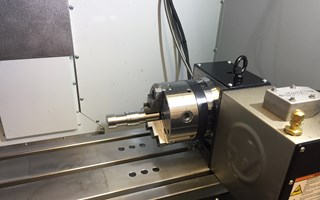 CNC 4-Axis Milling