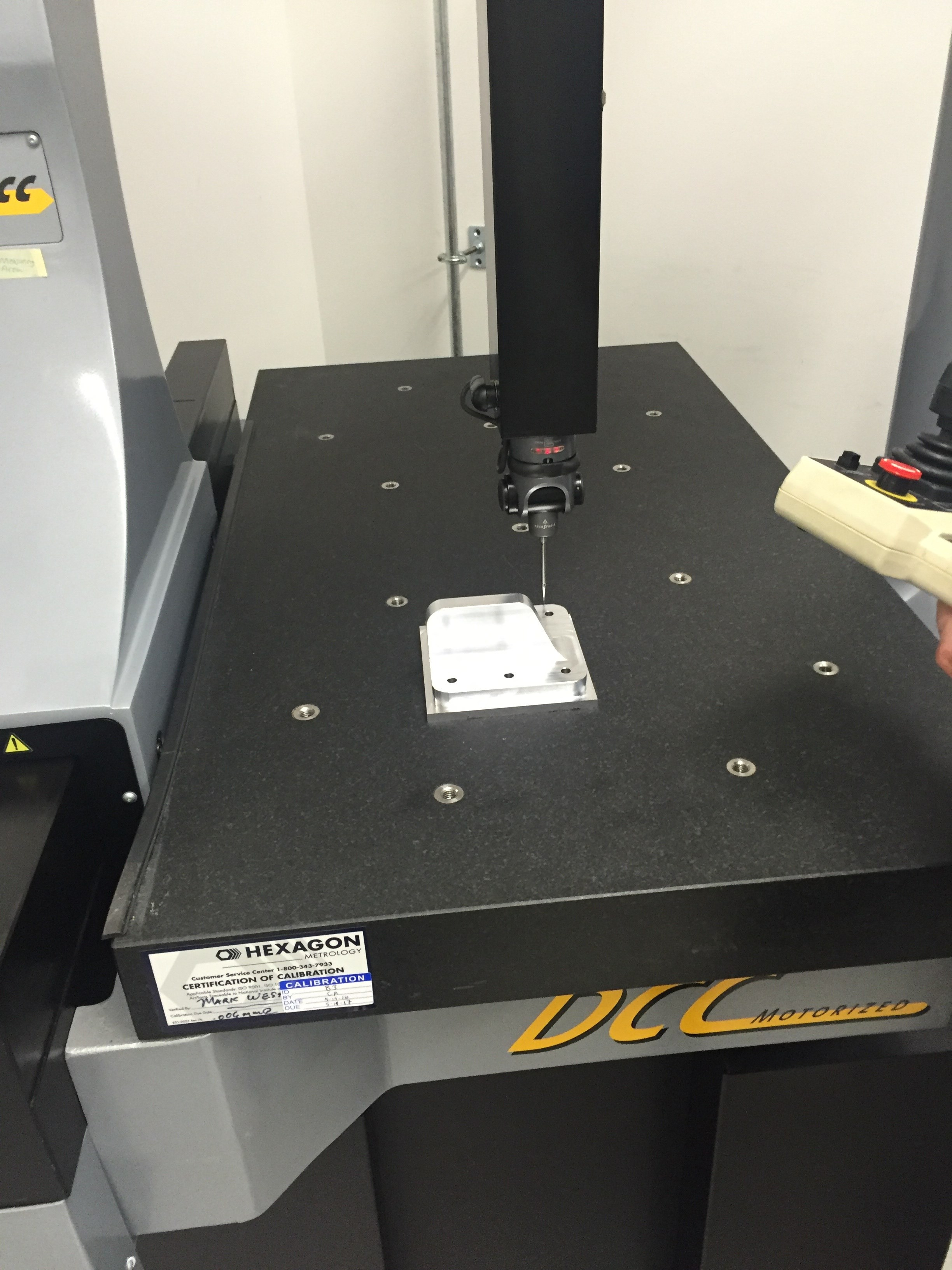 CMM Measuring Capabilities